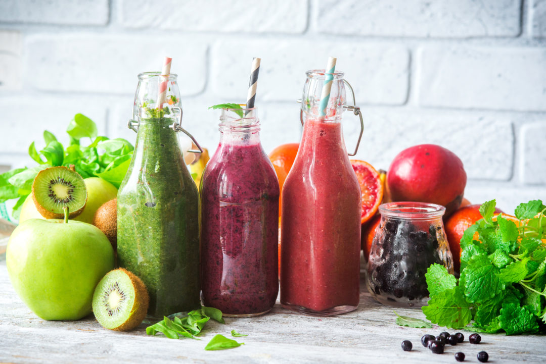 Sommer Smoothies. © shutterstock.com