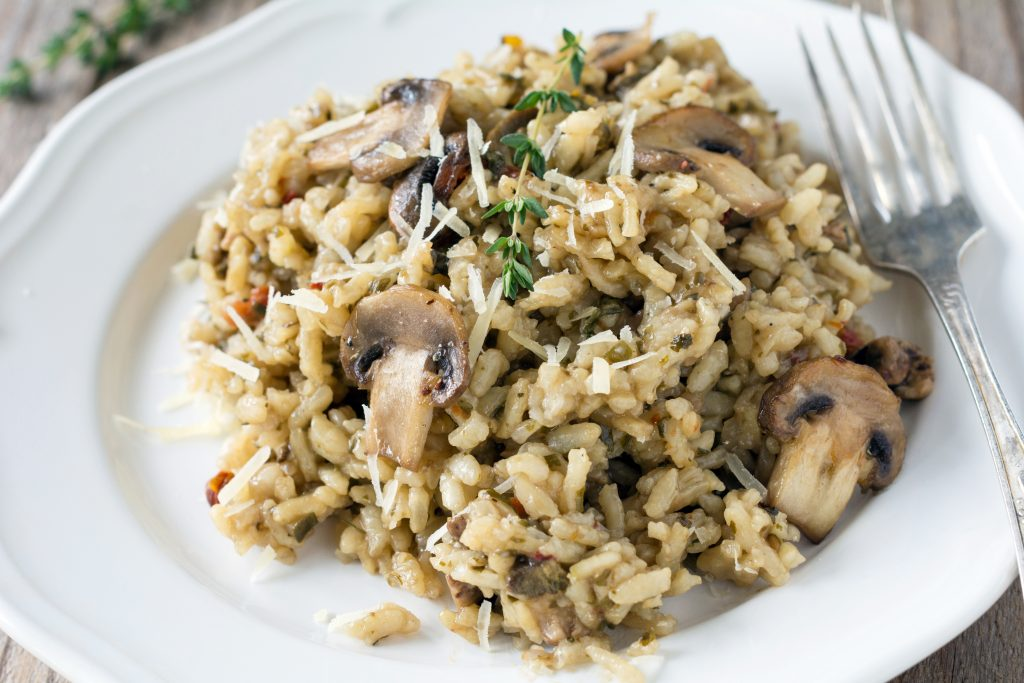 Cremiges Pilz Risotto ©Shutterstock.com